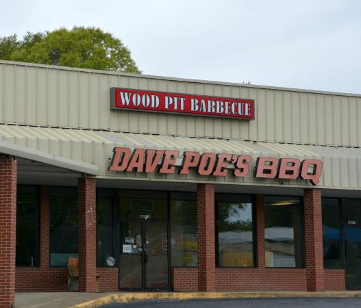 Dave Poe's BBQ: Not Eastern Style NC Que but still very good