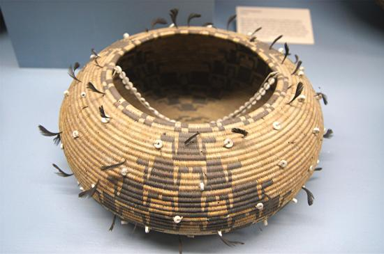 Native American basket - Picture of Maryhill Museum of Art