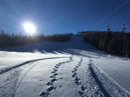 Kingfield, ME: Sugarloaf - West powder trail