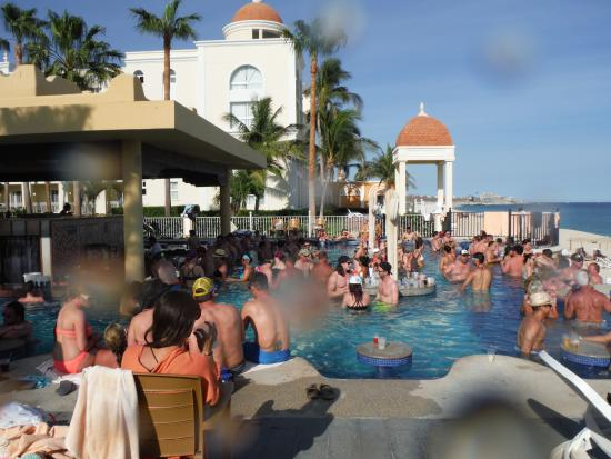 packed swim up poo picture of hotel riu santa fe cabo san lucas rh tripadvisor co uk