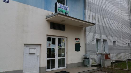 Lazne Bohdanec, Τσεχική Δημοκρατία: Storefront for Restaurace Zababa