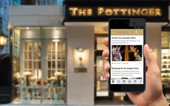 The Pottinger Hong Kong : Handy smartphones with free international calls (to selected countries)
