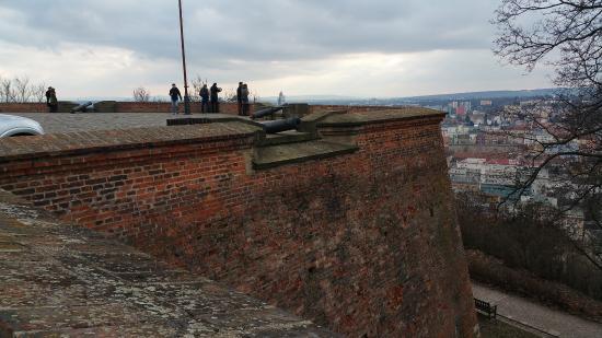Brno, República Checa: On Spilberk Castle
