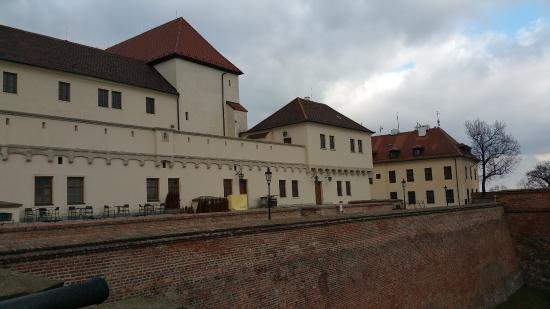 Brno, Tjeckien: Buildings at Spilberk Castle