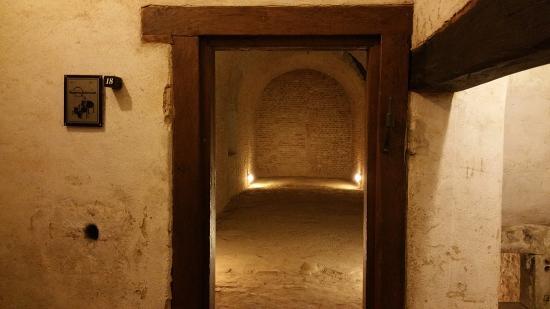 Brno, Tjekkiet: Cell Area in the Casemates at Spilberk Castle