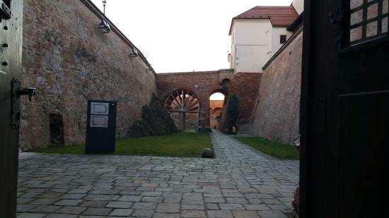 Brno, Tjekkiet: Outside of the Casemates at Spilberk Castle