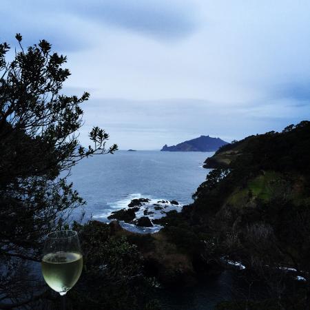 Taiharuru, Nueva Zelanda: What a place to enjoy a wine!