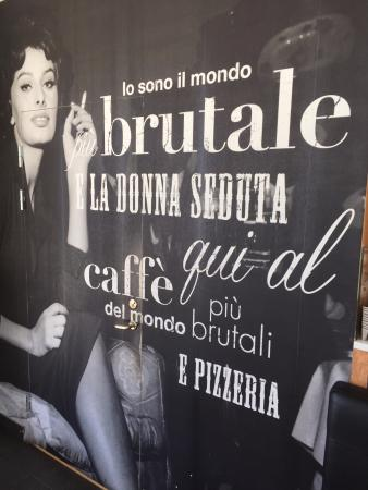"""Brutale: Trying to look """"cool"""", but this is non-sense italian."""