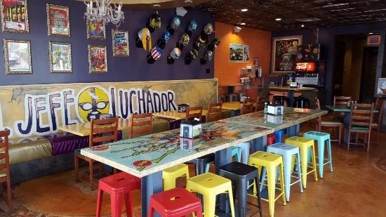El Jefe Luchador Dining Room