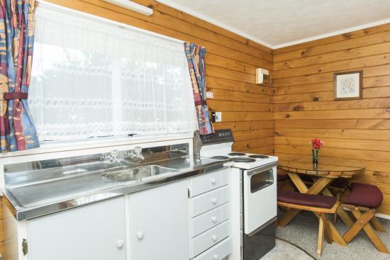 Gisborne, Nueva Zelanda: King studio kitchen