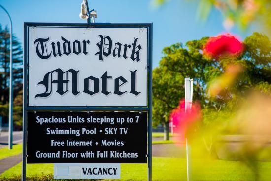 Gisborne, Nueva Zelanda: Welcome to Tudor Park Motel