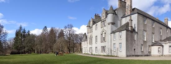 Huntly, UK: Prachtig kasteel en ligging.
