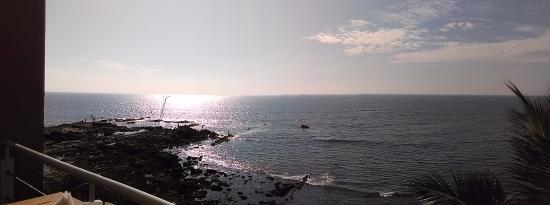 Anjuna, India: the view from the Nysex Beach club ! Its Magic