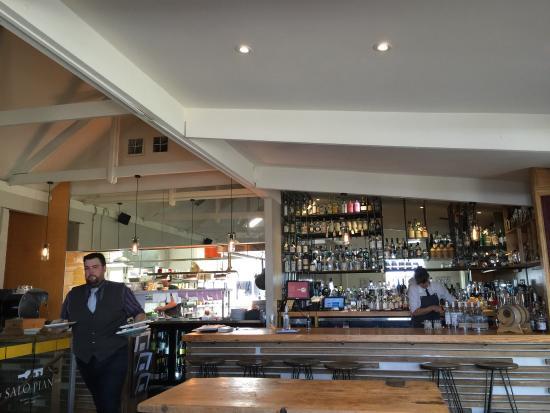 McLaren Vale, Australia: The kitchen and bar.