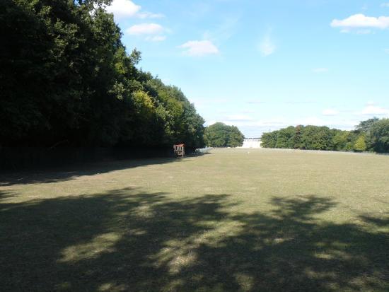 Valencay, Fransa: extremité du parc