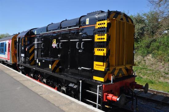 Chipping Ongar, UK: Ongar Railway Diesel Day