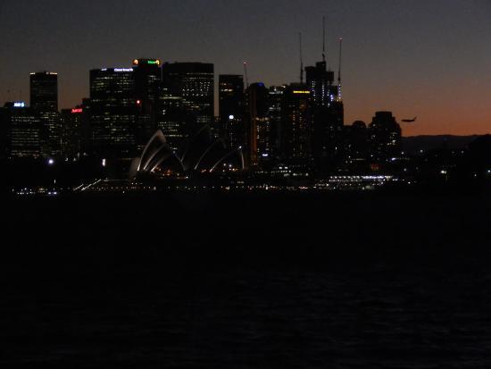 Cremorne Point to Mosman Bay Walk: večerné Sydney