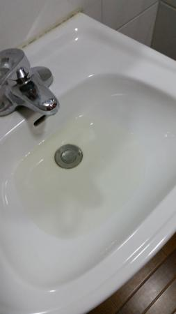 Far East International Hotel Beijing: The water was opaque