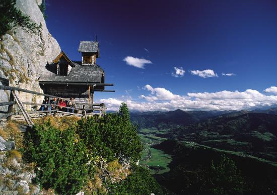 """Radstadt, Austria: Ausflugsziel """"das Friedenskircherl"""""""
