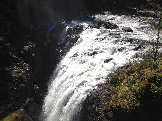 Nanaimo, Kanada: Fast flowing waters