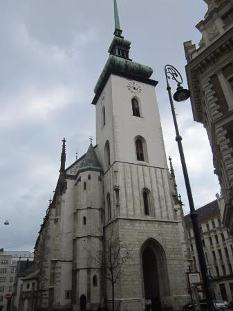 Brno, Çek Cumhuriyeti: вид с другой стороны улицы