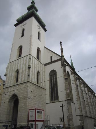 Brno, Çek Cumhuriyeti: вид справа