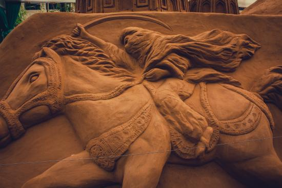 Mysore Sand Sculpture Museum: One of a kind !