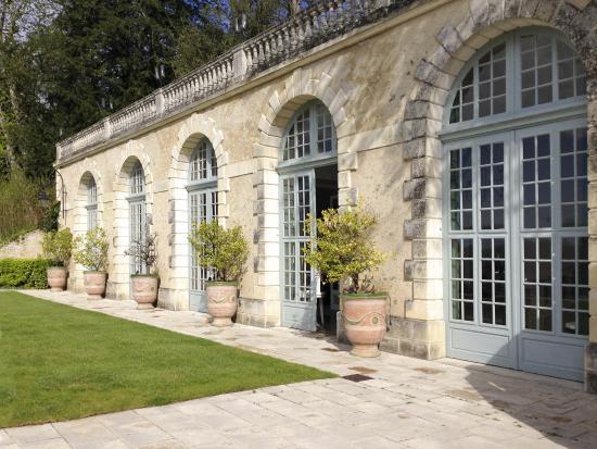 Domaine des Bidaudieres : l'orangerie est devenue salle de reception