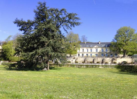 Domaine des Bidaudieres : un jardin très entrenu