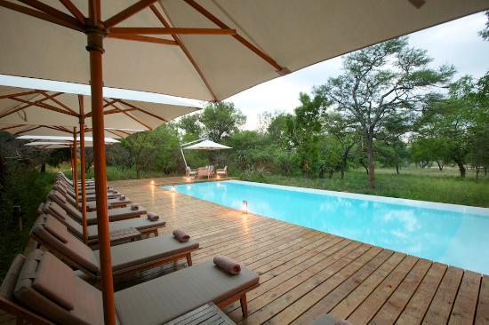 Kapama Private Game Reserve, Sudafrica: Pool area