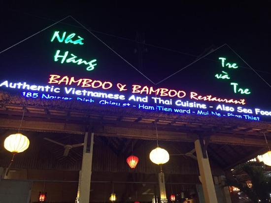 Bamboo Bamboo Restaurant: Good food ever !!!!!! Love it