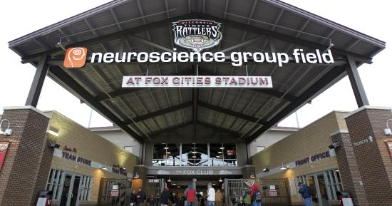 ‪Neuroscience Group Field at Fox Cities Stadium‬ لوحة