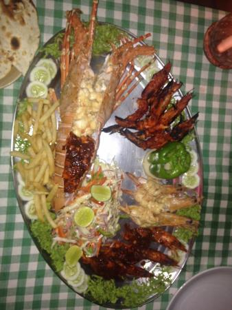 Venus Beach Shack: Happiness on a plate...