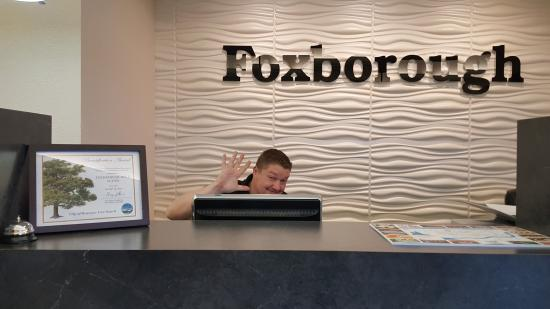 Foxborough Resort: front desk