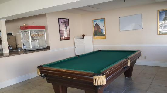 Foxborough Resort: activity room