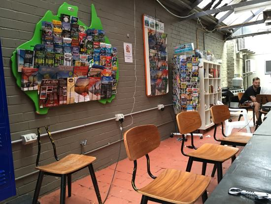The Village Surry Hills: Dining area