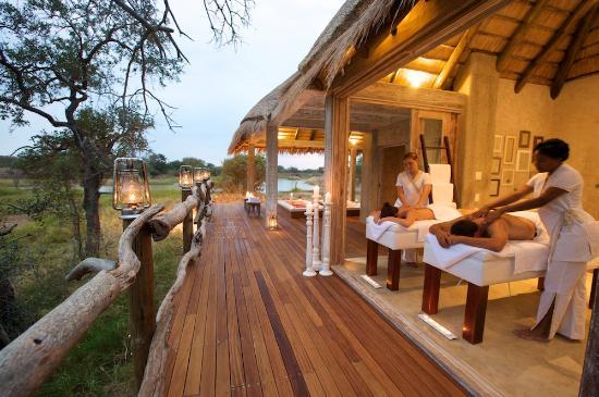 Kapama River Lodge: Wellness Centre treatment
