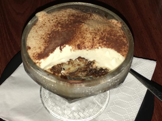 Bona Fides Cafe Restaurant: Tiramisu