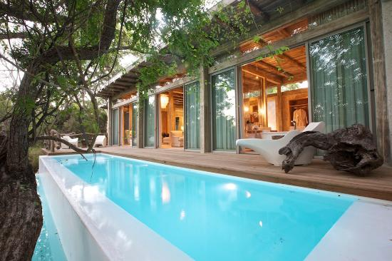 Kapama Private Game Reserve, Sudáfrica: Superior Suite pool