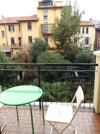 Malta Hotel: Vista da sacada do quarto