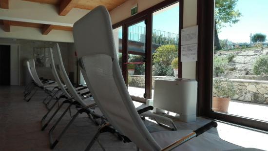 Terme di San Giovanni Rapolano: Sala Relax