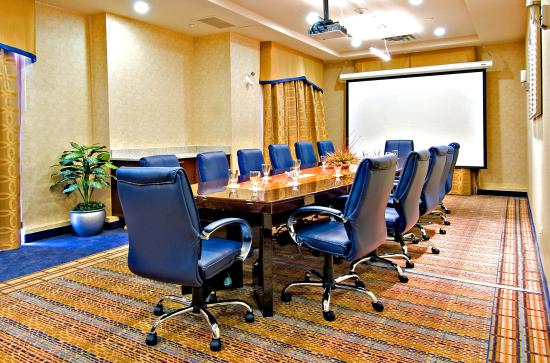Holiday Inn Express Hotel & Suites Riverport: Boardroom High Tech all inclusive AV equipped
