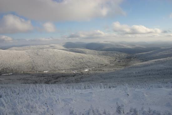 St-Augustin-de-Woburn, Canada: View from Mont Gosford in winter