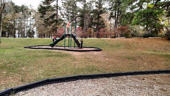 Jackson, Georgien: Playground at High Falls State Park