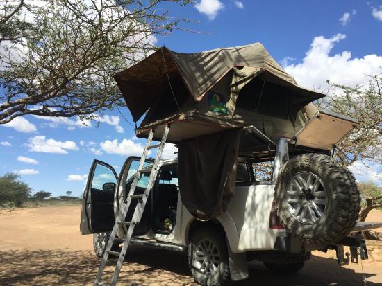 Китмансхуп, Намибия: Campsite
