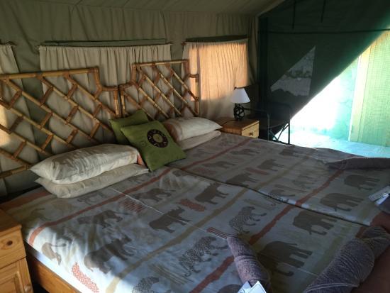 Karibib, Namibya: Tent Chalet
