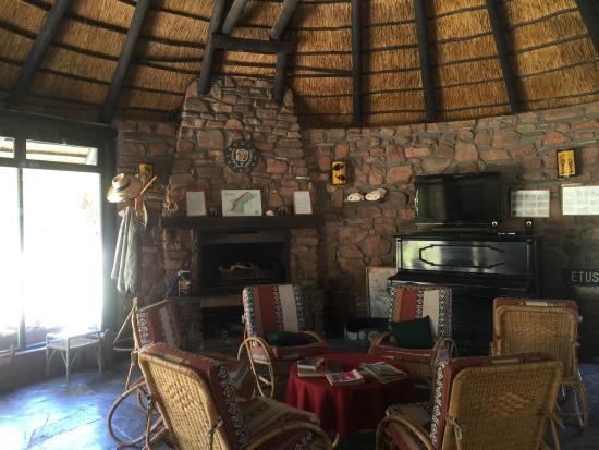Karibib, Namibya: Reception area