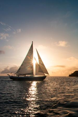 Petit St. Vincent Resort: PSV Sunset Sail