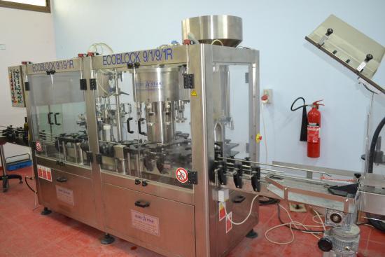 Lambouri Winery: Нижний цех винодельни