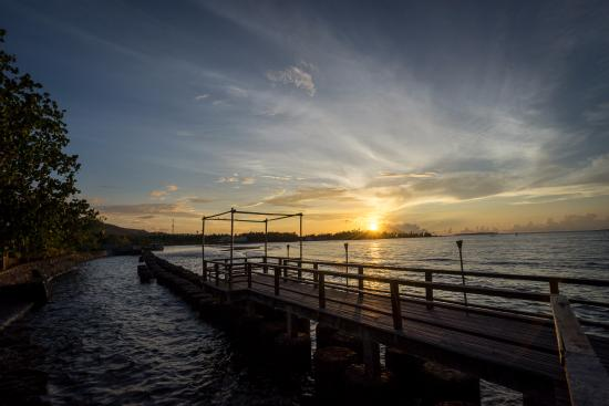 Wori, Indonesia: Sunset View